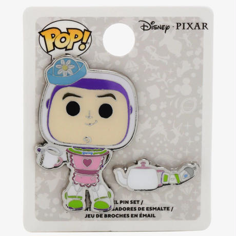 ファンコ ポップトイストーリー ミセス・ネズビット(バズ)    ピンバッジ  Funko Pop!  Toy Story Buzz Mrs. Nesbitt