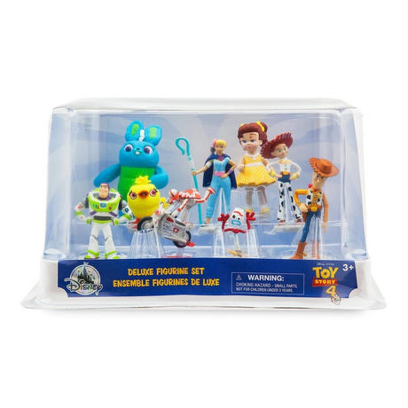 トイストーリー4 Disney Store DX フィギュアセット Toy Story 4   Deluxe Figure Set