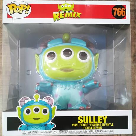 ファンコ ポップ トイストーリー エイリアン リミックス 10インチ サリー FUNKO POP! TOY STORY ALIEN REMIX -10 Inch  Sulley