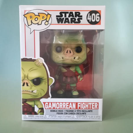 ファンコ ポップ  スターウォーズ『 マンダロリアン』ガモーリアン・ファイター   FUNKO POP! STARWARS The Mandalorian  Gamorrean Fighter