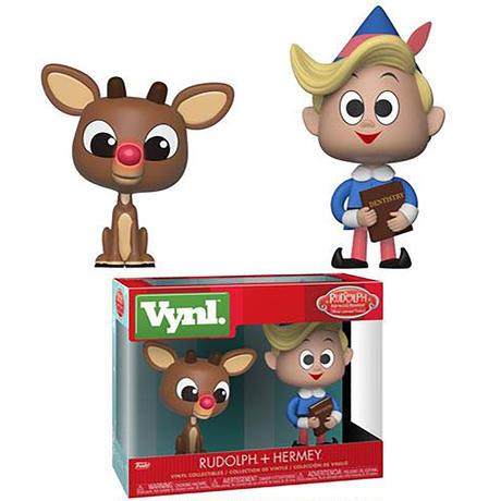 ファンコ Vynl 『ルドルフ 赤鼻のトナカイ』ルドルフ+ハーミー FUNKO Rudolph the Red-Nosed Reindeer Rudolph + Hermey