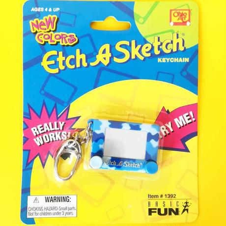 エッチアスケッチ キーチェーン【迷彩】  Etch A Sketch  Keychain