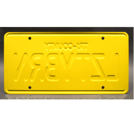 ピクサー 『トイストーリー2』 アルの車の ナンバープレート ・レプリカ