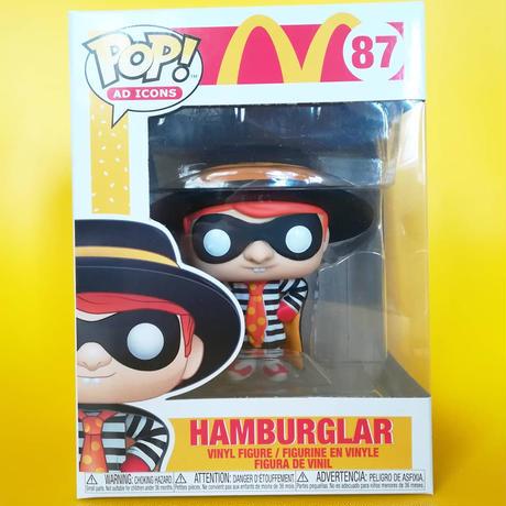 ファンコ ポップ 『マクドナルド』ハンバーグラー  FUNKO POP!McDomald's Hamburglar