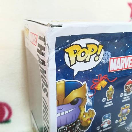 ファンコ ポップ マーベル  サノス(クリスマス) FUNKO POP!Marvel  Thanos (Holiday)