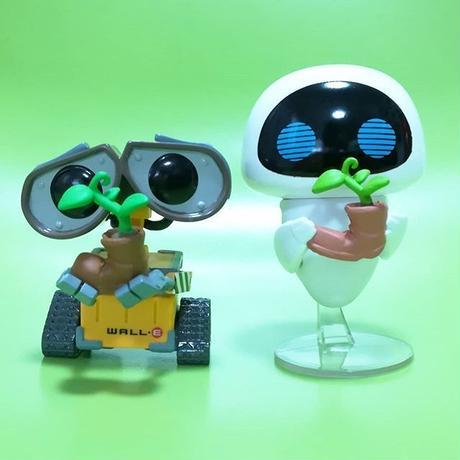 ファンコ ポップ 『WALL-E』アースディ限定 ウォーリー & イヴ Funko Pop! Earth Day WALL-E  & EVE