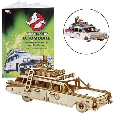 【送料込み】木製組立てキット『ゴーストバスターズ』ECTO-1  3D Wood Models Ghostbusters ECTO-1