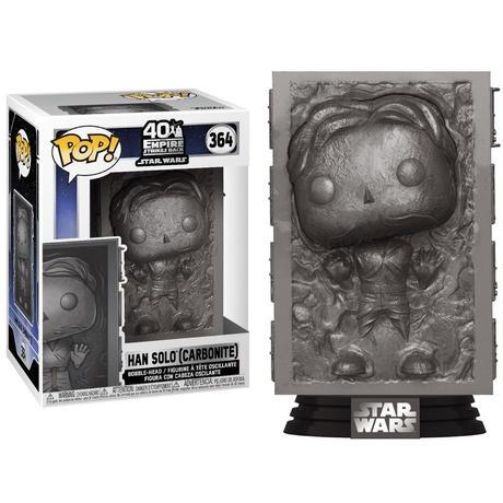 ファンコ ポップ  「スターウォーズ」ハン・ソロ(カーボナイト) FUNKO  POP! Star Wars Han Solo (Carbonite)