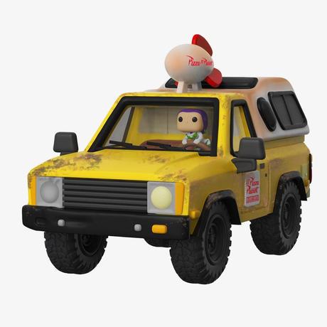2018コミコン限定 ファンコ ポップ  トイストーリー ピザプラネット トラック & バズ ライトイヤー   Funko Pop! Pizza Planet Truck