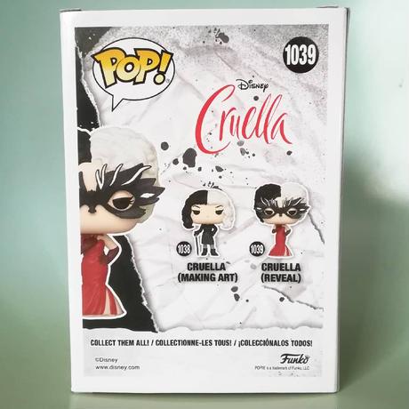 ファンコ ポップ ディズニー『クルエラ』クルエラ(リヴィル) FUNKO POP!  Cruella (Reveal)