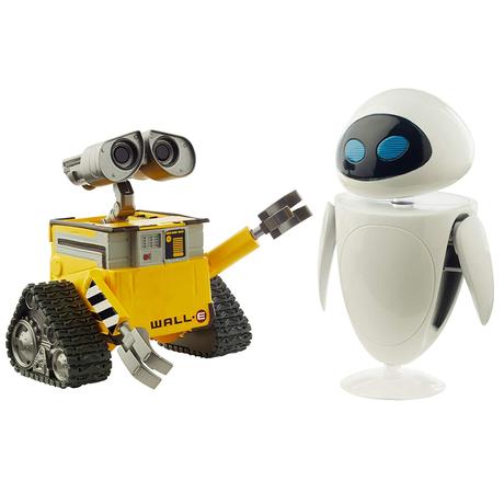 ピクサー「WALL-E」ウォーリー&イヴ  アクションフィギュア Disney Pixar Wall-e & Eve Figures