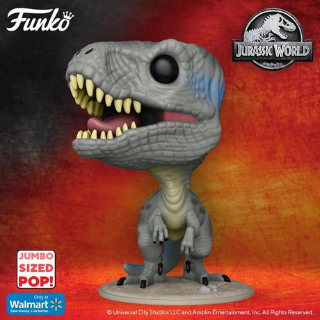 """ファンコ ポップ  『ジュラシック・ワールド』10インチ ブルー(ヴェロキラプトル) FUNKO  POP! Jurassic World   Blue (Velociraptor) 10"""""""
