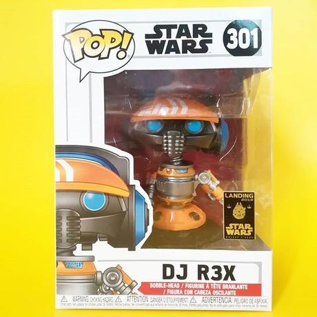 ファンコ ポップ FUNKO POP! ディズニーパークス限定 スターウォーズ DJレックス DJ R3X