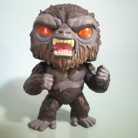 ファンコ ポップ   映画『ゴジラvsコング』バトル・レディ・コング  Funko Pop  Godzilla Vs Kong - Battle Ready Kong