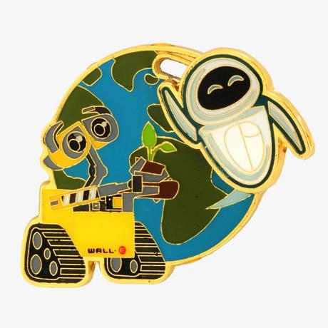 ピクサー ウォーリー Pixar WALL-E エナメル製 ピンバッジ