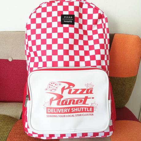トイストーリー ラウンジフライ  ピザプラネット  バックパック      Toy Story Loungefly PizzaPlanet Back Pack