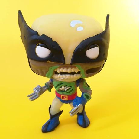 ファンコ ポップ  マーベル・ゾンビーズ  ゾンビ・ウルバリン【グロー版】 FUNKO POP! MARVEL ZOMBIES - Zombie Wolverine  (GITD)