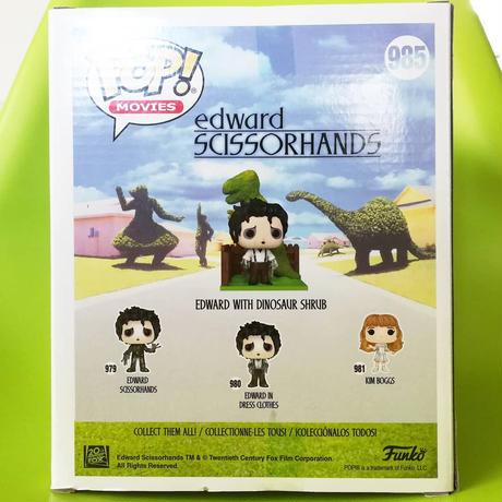 ファンコ  ポップ  映画『シザーハンズ』エドワード&ディノヘッジ Funko POP!  Edward Scissorhands  Edward & DinoHedge