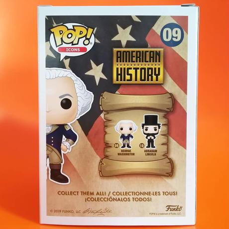 ファンコ ポップ 「アメリカン・ヒストリー」ジョージ・ワシントン FUNKO POP AMERICAN HISTORY  George Washington