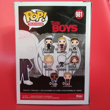 ファンコ ポップ 『ザ・ボーイズ』トランスルーセント FUNKO POP!  The Boys -  Translucent