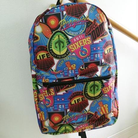 映画『レディ・プレイヤー1』大人用バックパック Ready Player One OASIS Patches Backpack