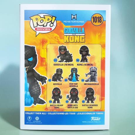 ファンコ ポップ   映画『ゴジラvsコング』ヒート・レイ ゴジラ  Funko Pop  Godzilla Vs Kong - Heat Ray Godzilla