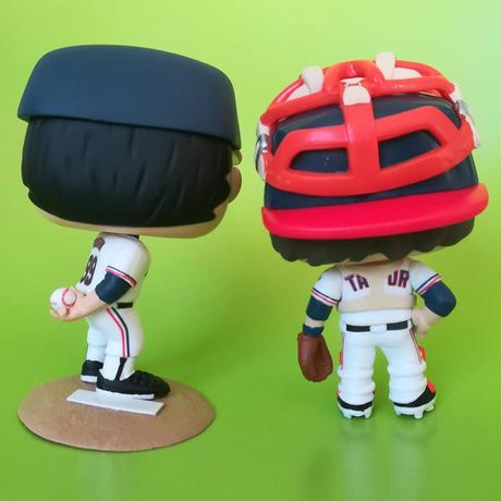 ファンコ ポップ  映画『メジャーリーグ』 2体セット  FUNKO POP! Major League  set of 2