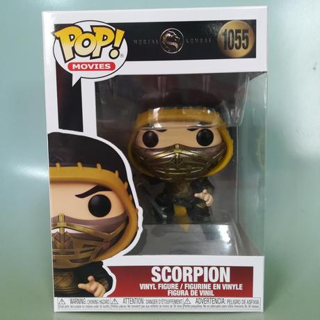 ファンコ ポップ  映画『モータルコンバット』スコーピオン   Funko Pop! Movies: Mortal Kombat - Scorpion