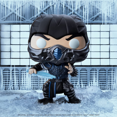 ファンコ ポップ  映画『モータルコンバット』サブゼロ   Funko Pop! Movies: Mortal Kombat - Sub-Zero