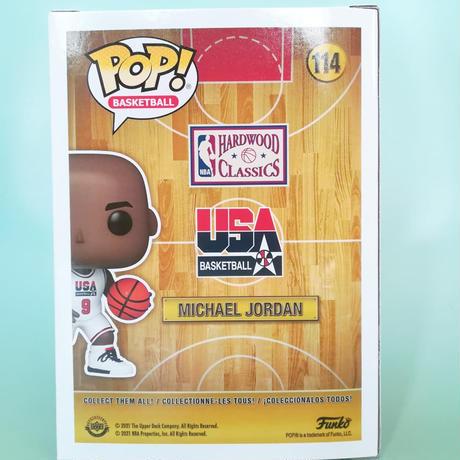 ファンコ ポップ NBA 1992 ドリームチーム マイケル・ジョーダン FUNKO POP! NBA 92 Dream Team - MICHAEL JORDAN