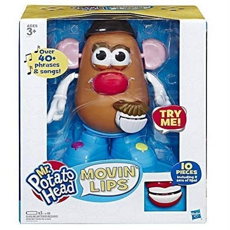 インタラクティブ ミスター・ポテトヘッド  Mr.Potato Head  Movin' Lips Electronic Interactive Talking Toy