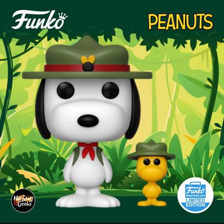 ファンコ ポップ ピーナッツ  ビーグルスカウト スヌーピー  FUNKO POP!  Peanuts - Beagle Scout with Woodstock