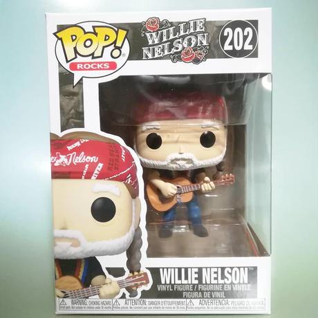ファンコ ポップ  ウィリー・ネルソン   Funko Pop! Rocks: Willie Nelson