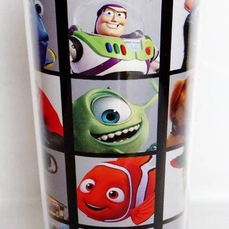 ピクサー  プラスチック製 トラベルマグカップ