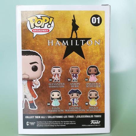 ファンコ ポップ  『ハミルトン』アレクサンダー・ハミルトン Funko POP!  Hamilton -Alexander Hamilton