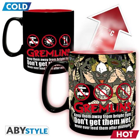 グレムリン 温度で柄が変わる ヒートチェンジ マグカップ