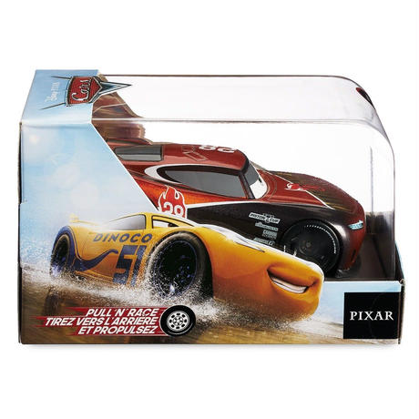 ディズニー・ピクサー カーズ   CARS 1/43  Pull 'N' Race Die Cast Car   Tim Treadless