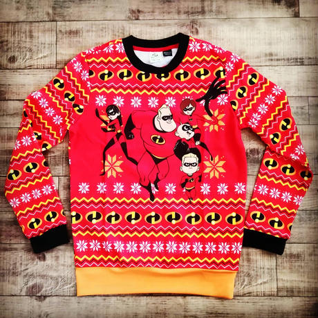 『インクレディブルファミリー』クリスマス セーター