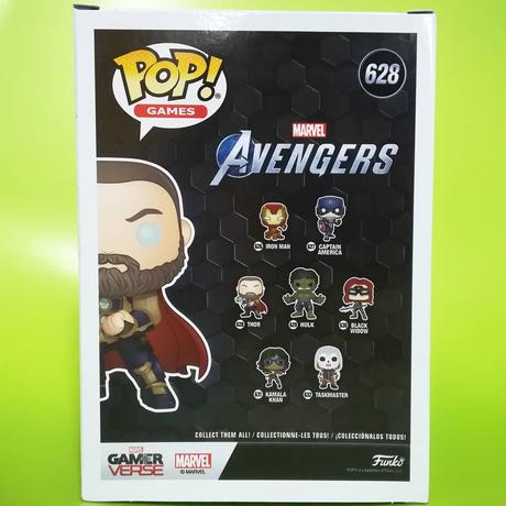 ファンコ ポップ GAMERVERSE『アベンジャーズ 』ソー(グロー版) Funko Pop! THOR (Avengers Gamerverse) 【GID】