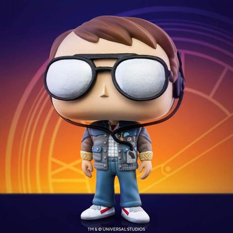 ファンコ ポップ 「バック・トゥ・ザ・フューチャー」マーティwithサングラス FUNKO POP BTTF - Marty with Glasses