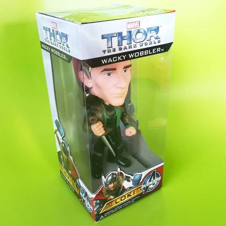 2013年 ファンコ ワッキーワブラー『マイティ・ソー/ダーク・ワールド』ロキ   FUNKO WACKY WOBBLER  Thor - The Dark World  LOKI