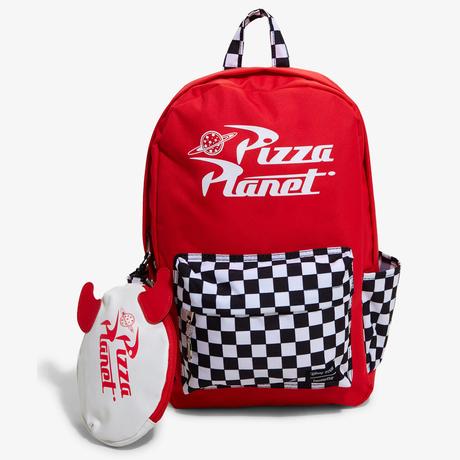 トイストーリー ラウンジフライ  ピザプラネット  バックパック  & ペンケース    Toy Story Loungefly PizzaPlanet Back Pack & Pencase