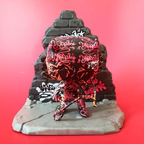 ファンコ ポップ  マーベル ストリートアート コレクション デア・デビル  FUNKO POP!  Daredevil