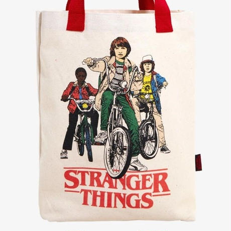 Netflix『ストレンジャーシングス』キャンバス製 トートバッグ  Loungefly Stranger Things Canvas Tote Bag
