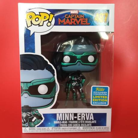 2019 コミコン限定 ファンコ  ポップ  『キャプテン・マーベル』ミン・エルヴァ Funko POP! Marvel Captain Marvel  Minn-Erva