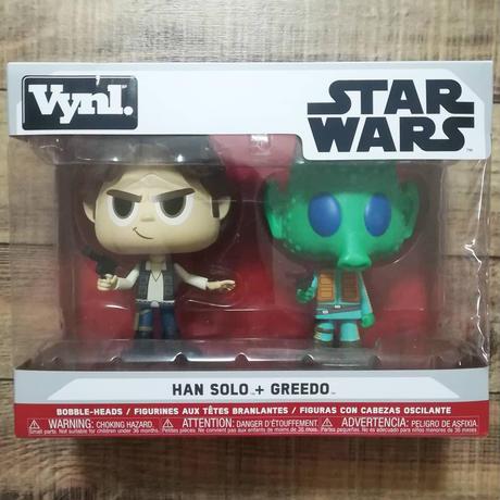 ファンコ Vynl 『スターウォーズ』ハン・ソロ+グリード  Funko Vynl STAR WARS Han Solo + Greedo  フィギュアセット