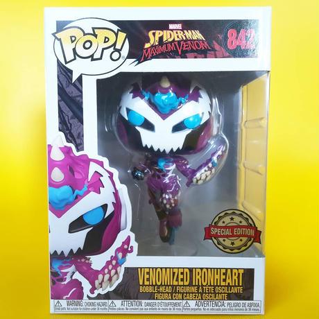 ファンコ ポップ  マーベル  ヴェノマイズド・アイアンハート   Funko Pop!  MARVEL Venomized Ironheart
