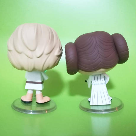 ファンコ Vynl 『スターウォーズ』ルーク・スカイウォーカー+レイア姫  Funko Vynl STAR WARS Luke Skywalker + Princess Leia フィギュアセット