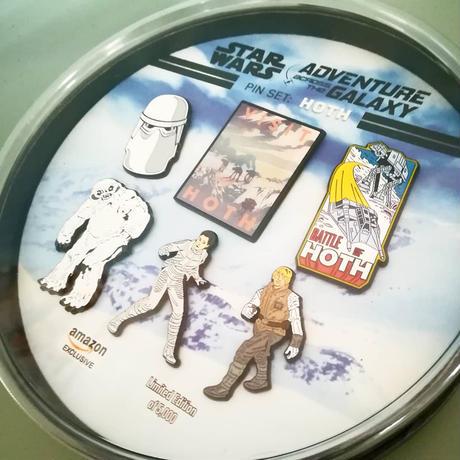 『スターウォーズ 帝国の逆襲』 氷の惑星 ホス  ピンバッジ セット