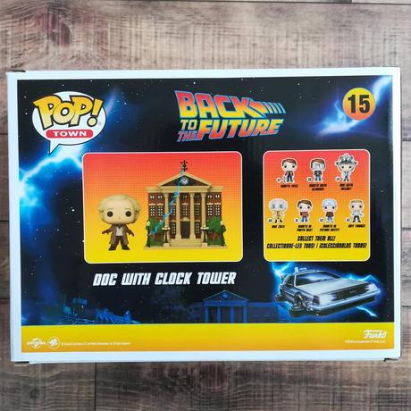 ファンコ ポップ 「バック・トゥ・ザ・フューチャー」ドク ウィズ クロックタワー FUNKO POP Back To The Future Doc With Clock Tower